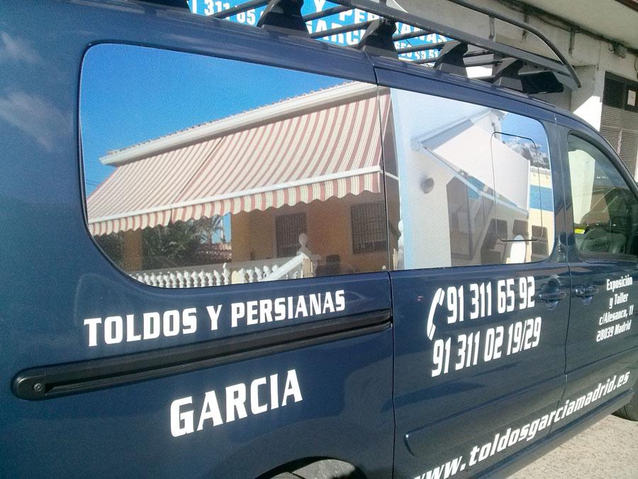 Exposicíon y Taller Toldos Garcia Madrid