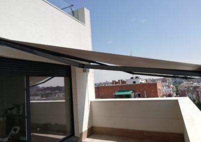 Instalación de Toldos García Madrid